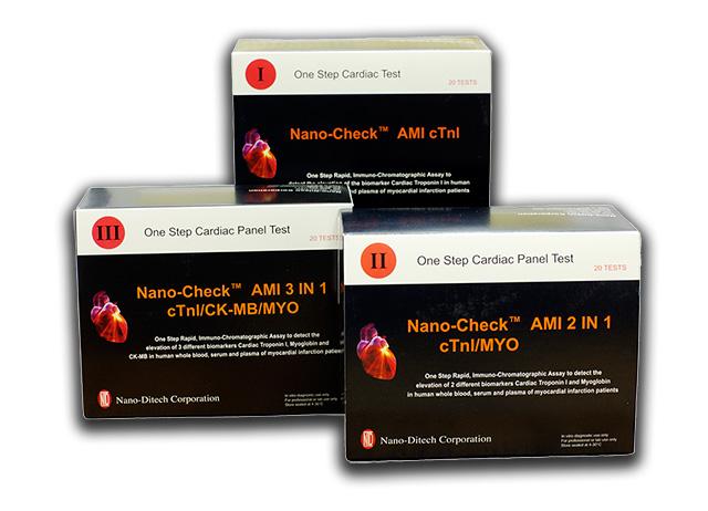 Тест полоски к Экспресс-анализатор критических состояний  Nano-Checker 710